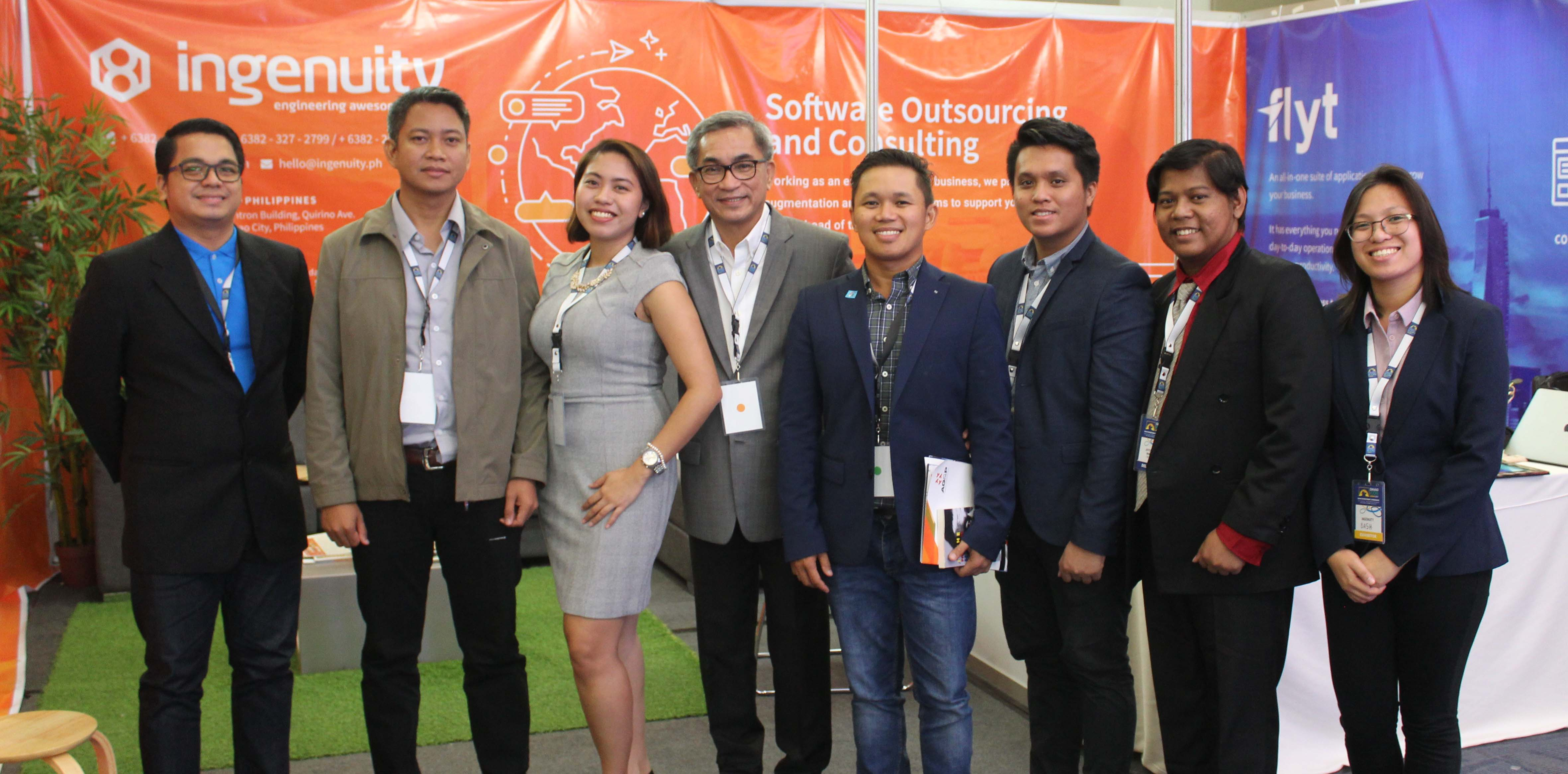 Ingenuity and Flyt Team together with Mr. Arturo Millan, 2017 Davao Icon Chairman